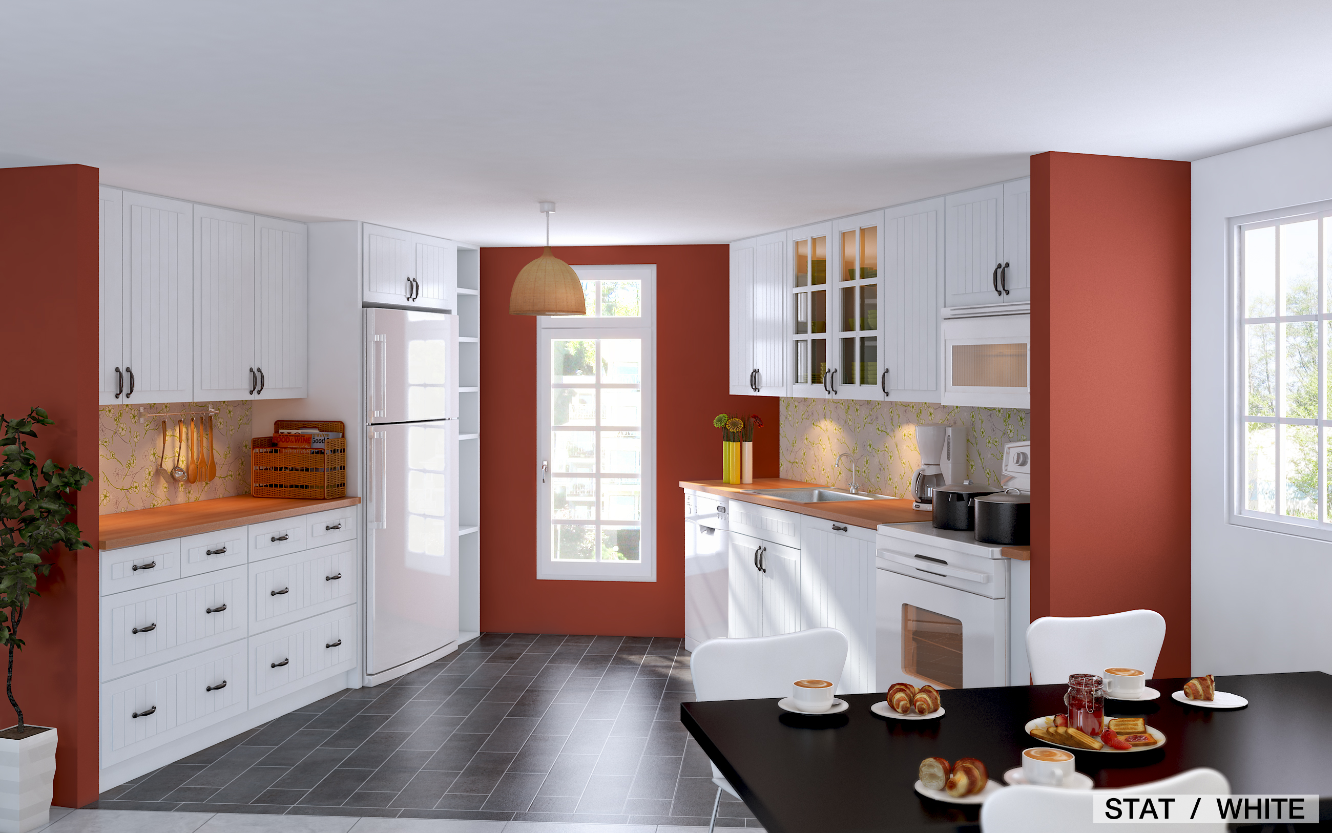 . 5 ways to spice up your white IKEA kitchen