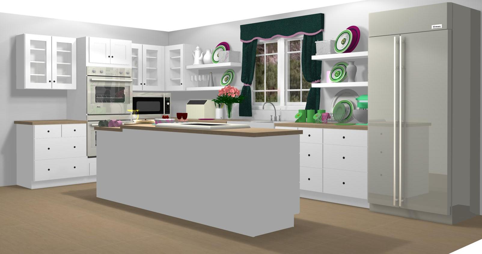 Famous Kitchens Get The Look Sandra Lee Tv Chef 39 S Edition
