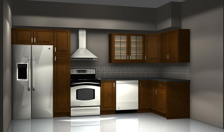 Common kitchen design mistakes cooking area too close to a tall cabinet - Kitchen designers online ...
