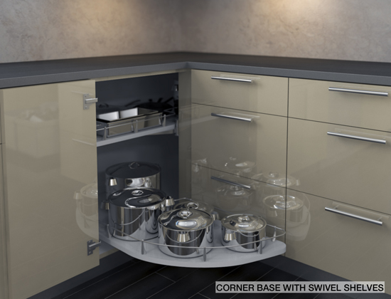 Kitchen Corner Cabinet : How to take advantage of that space at your kitchen  corners