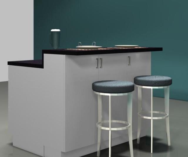 Kitchen Island Raised Bar: IKEA Kitchen Islands: Build A Breakfast Bar