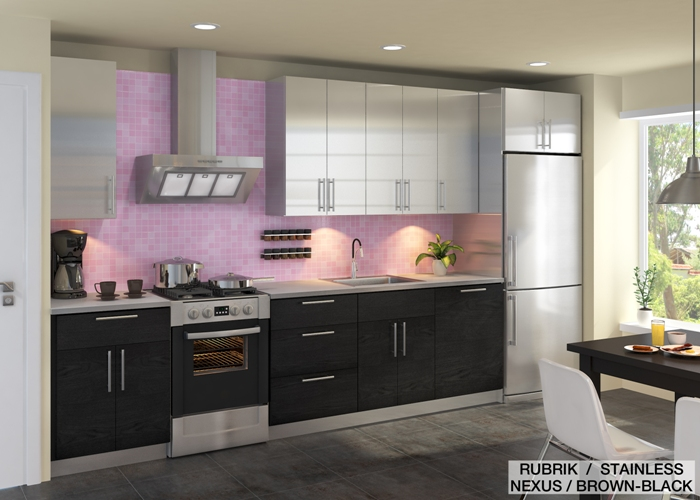 design ideas combine colors and materials for your ikea kitchen - Ikea Black Kitchen Cabinets