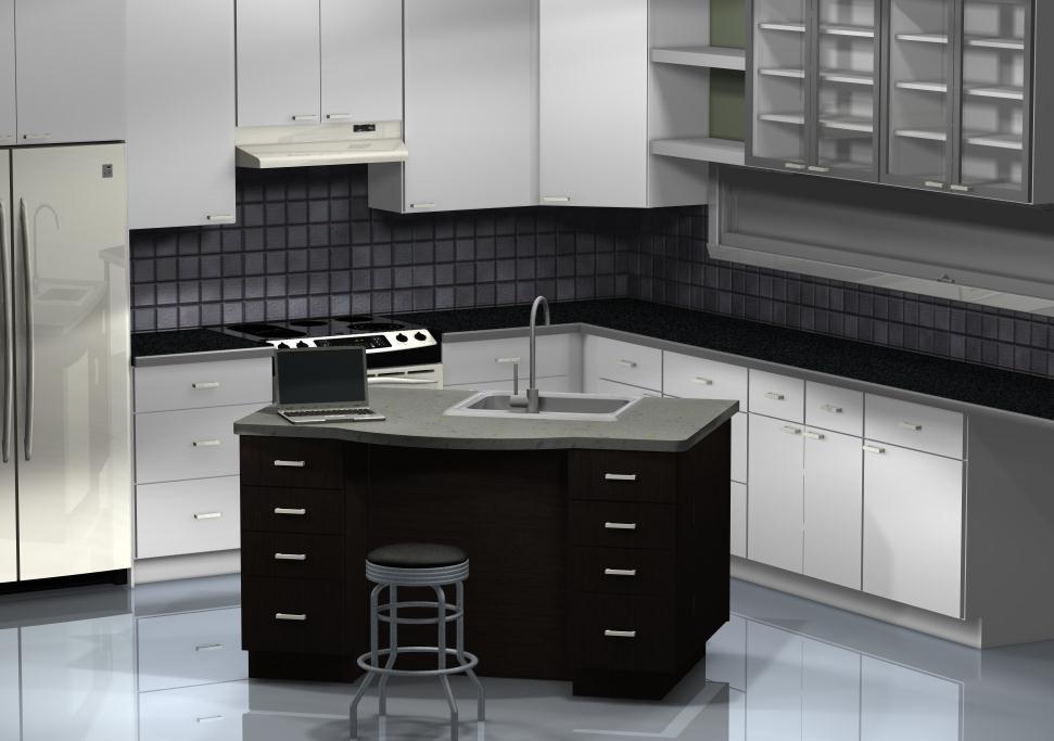 Ikea Kitchen Islands A Practical Desk Area