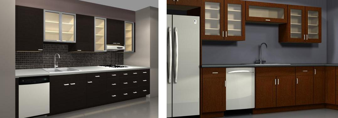 Get a beautiful kitchen with IKEA glass doors