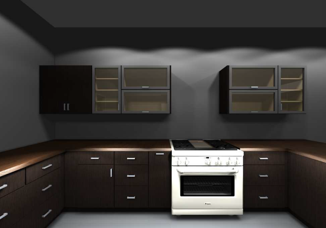 Vertical Storage Kitchen Cabinet