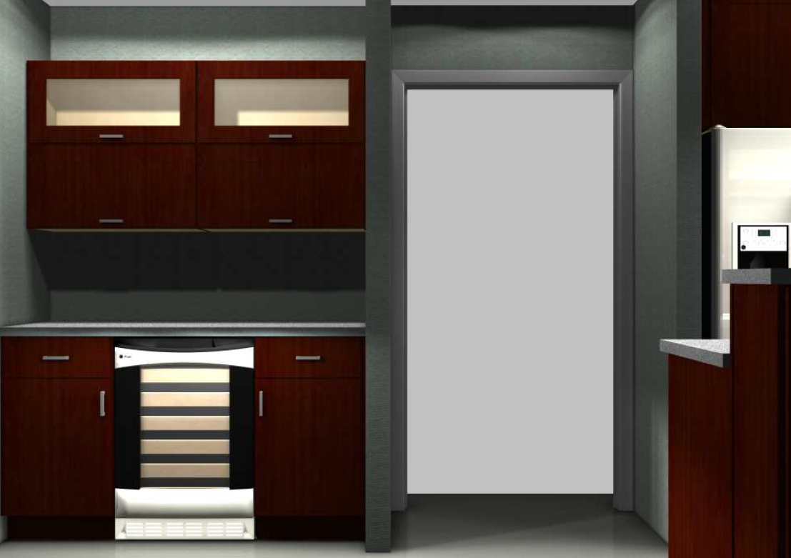Optimizing kitchen space with contemporary ikea cabinets for Bar cabinets ikea