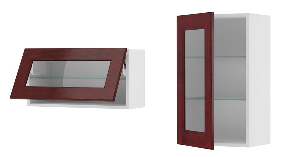 Akurum Wall Cab Horizontal W Glass Door 0129804 PE283893 S4