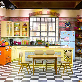 FAMOUS KITCHENS – Get the Look: Rachel Ray – TV Chef's Edition on tv shows bedroom, tv shows home decor, tv shows 1950 1960, tv shows karate, tv shows tours, tv shows zoo, tv shows tile, tv shows apartments, tv in kitchen design, tv shows clothing, tv shows restaurants, golden girls set design, tv shows set in islands, tv shows photography,
