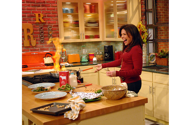 Famous Kitchens Get The Look Rachel Ray Tv Chef S Edition