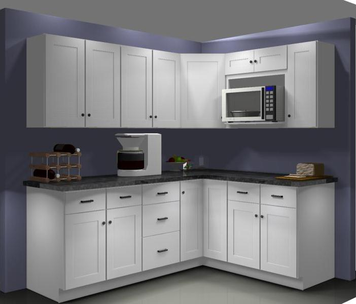 Kitchen Wall Cabinet Plans: Common Mistakes: Radiate Away From The Corner