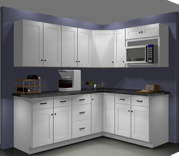 Shift The Wall Cabinets Around And Leave A Regular Wall Cabinet In