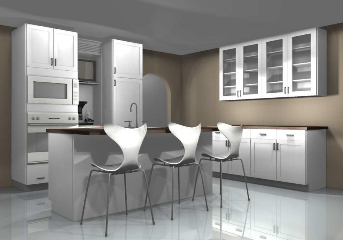 kitchen design ideas  hiding a tv inside the kitchen  rh   inspiredkitchendesign com