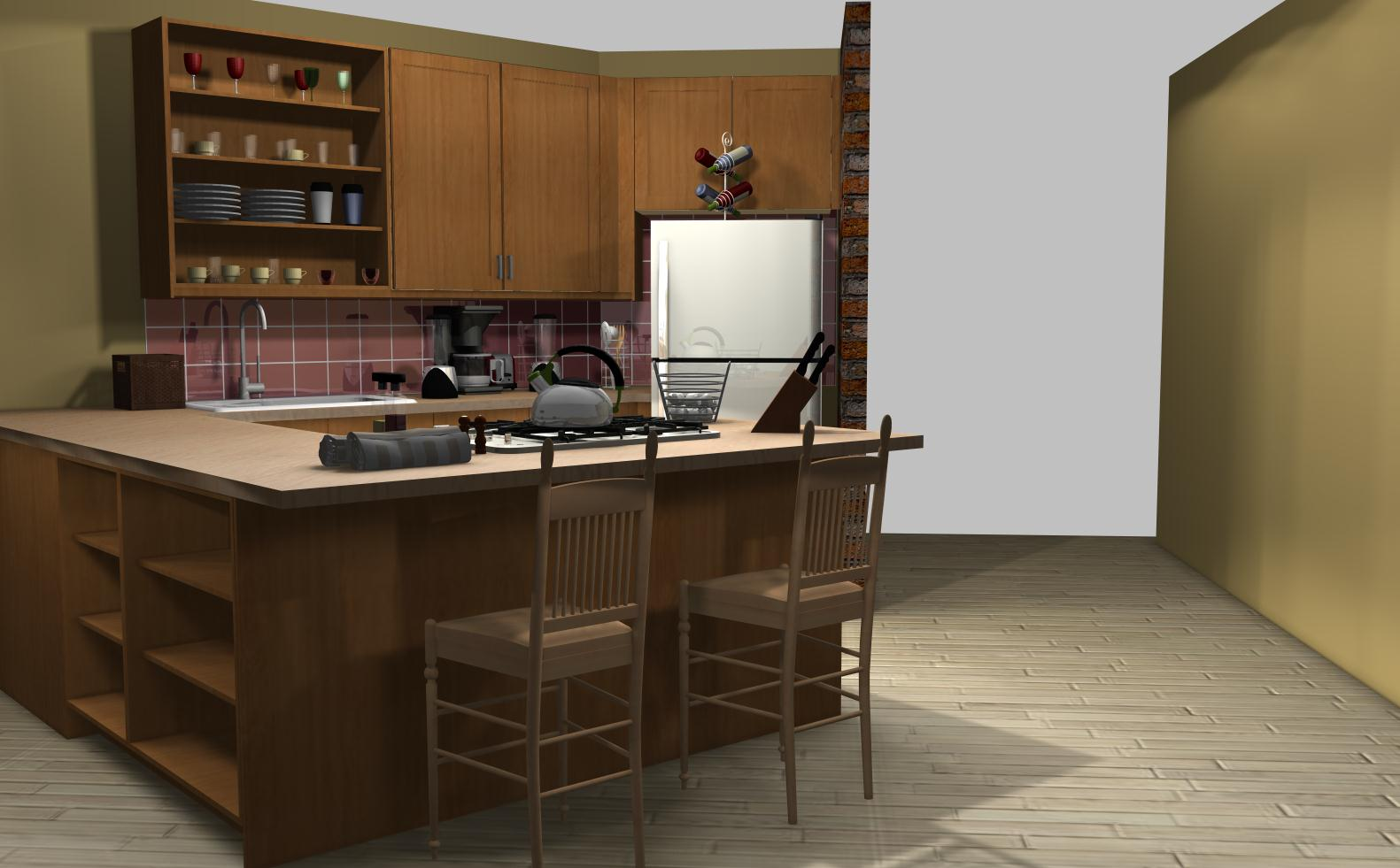 Famous Kitchens Get The Look The Big Bang Theory Penny