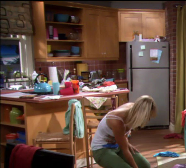 famous kitchens – get the look: the big bang theory: penny - tv
