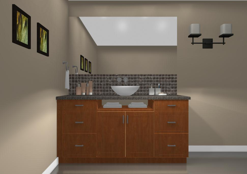 Ikea vanities a nook below the sink ikdo for Ikea kitchen cabinets online