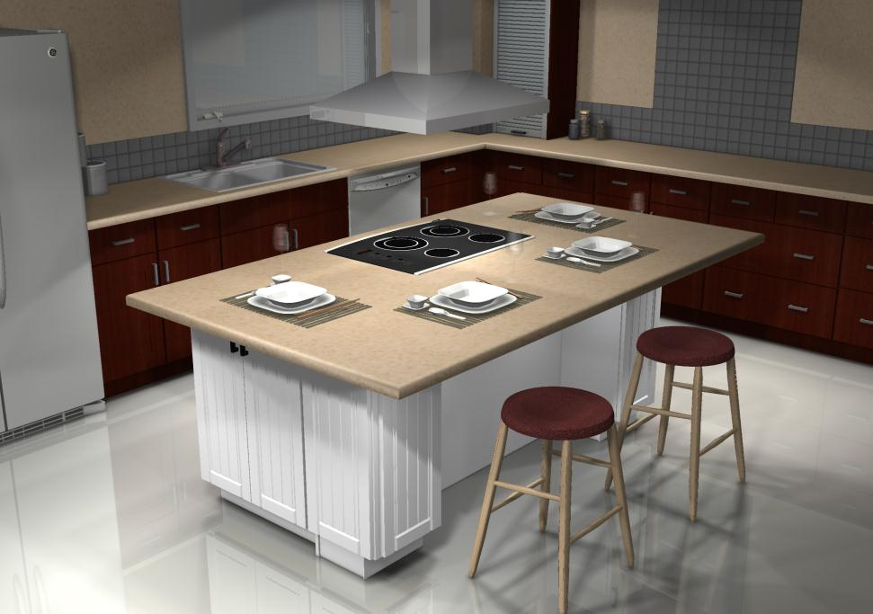 Restaurant Kitchen Island a japanese restaurant inspired kitchen island